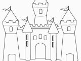 Printable Castle Coloring Pages Fun Castle Printable Colouring Page Art
