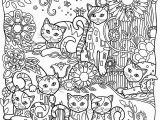 Printable Cats Coloring Pages Pin by Claire Lee On Adult Coloring