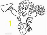 Printable Cheerleading Coloring Pages 74 Best Kids Images On Pinterest