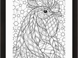 Printable Chinese New Year Coloring Pages Rooster Coloring Page • Free Printable Ebook