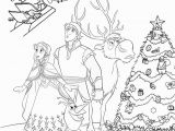 Printable Christmas Coloring Pages Disney Frozen Christmas Coloring Pages with Images