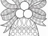 Printable Christmas Coloring Pages for Adults Color Christmas Bell Coloring Page by Thaneeya with Images
