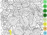 Printable Color by Number Coloring Pages 105 Best Color by Numbers Images