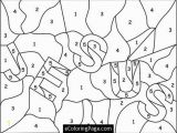 Printable Color by Number Coloring Pages Jesus Color Numbers Coloring Page for Printable