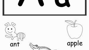Printable Coloring Alphabet Flash Cards Letter A Printable Alphabet Flash Cards for Preschoolers