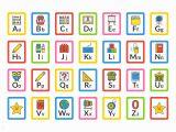 Printable Coloring Alphabet Flash Cards School themed Alphabet Flash Cards Download Free Vectors