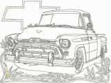 Printable Coloring Pages Cars and Trucks Chevrolet Truck Coloring Pages