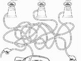 Printable Coloring Pages Disney Cars Disney Cars Maze Coloring Page