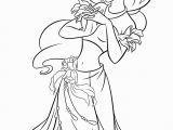 Printable Coloring Pages Disney Princesses Free Printable Coloring Pages Princess Jasmine with Images