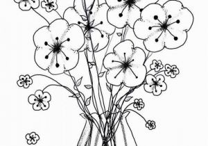 Printable Coloring Pages Flowers Flower Coloring Template 11 S Printable Coloring Page