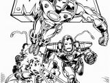 Printable Coloring Pages Iron Man Ironman