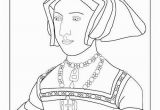 Printable Coloring Pages Kings and Queens Jane Seymour Colouring Page