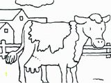 Printable Coloring Pages Of Animals On the Farm Coloring Page Cow Printable Farm Coloring Pages Cow Coloring
