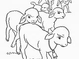 Printable Coloring Pages Of Animals On the Farm Farm Animal Coloring Pages