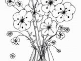 Printable Coloring Pages Of Flowers Printable Cool Vases Flower Vase Coloring Page Pages Flowers In A