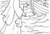 Printable Coloring Pages Of Jesus Walking On Water 17 Best Peter Walks On Water Images