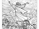 Printable Coloring Pages Of Jesus Walking On Water Coloring Book Jesus Walks Water Coloring Page Zen