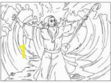 Printable Coloring Pages Of Moses Parting the Red Sea 28 Best Moses Parting the Red Sea Images On Pinterest