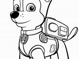 Printable Coloring Pages Of Paw Patrol Paw Patrol Chase Coloring Page