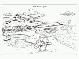 Printable Coloring Pages Of the Water Cycle Coloring Page Water Cycle Coloring Home