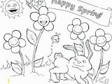 Printable Coloring Pages Spring Cavs Coloring Pages Best Spring Coloring Sheets Free Printable