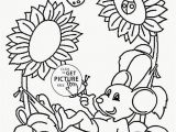 Printable Coloring Pages Spring Springtime to Color Free Printable Flower Coloring Pages