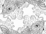 Printable Coloring Pages Yin Yang Dibujo Para Colorear Dos Peces Simétricos In 2020