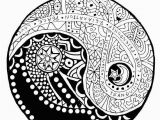 Printable Coloring Pages Yin Yang Image Result for Yin Yang Coloring Pages