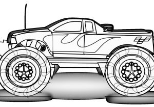 Printable Coloring Sheets Monster Trucks Free Printable Monster Truck Coloring Pages for Kids