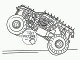 Printable Coloring Sheets Monster Trucks Monster Truck Max D Coloring Page for Kids Transportation Coloring