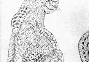Printable Complex Animal Coloring Pages to Print This Free Coloring Page Coloring Adult Difficult Cat From