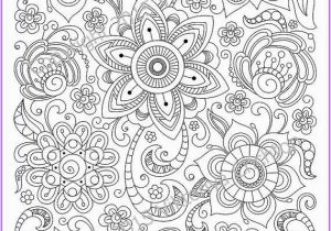 Printable Complex Coloring Pages Pdf Ð¡oloring Page Doodle Flowers Printable Zen Doodle Pdf Zentangle