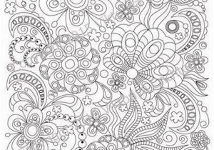 Printable Complex Coloring Pages Pdf Zentangle Art Coloring Page for Adults Printable Doodle Flowers