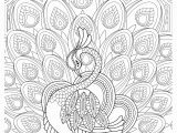 Printable Complex Coloring Pages Peacock Feather Coloring Pages Colouring Adult Detailed Advanced