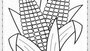 Printable Corn On the Cob Coloring Pages Corn the Cob Coloring Page at Getcolorings