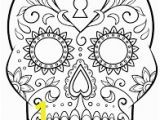 Printable Day Of the Dead Coloring Pages Image Result for Day Of the Dead Free Printable Coloring