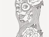 Printable Day Of the Dead Coloring Pages Pin On Colorings