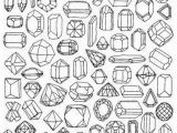 Printable Diamond Coloring Pages Gem Coloring Page Printable Wrapping Paper