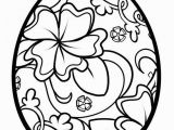 Printable Easter Egg Coloring Pages Free Printable Easter Coloring Pages for Adults Advanced