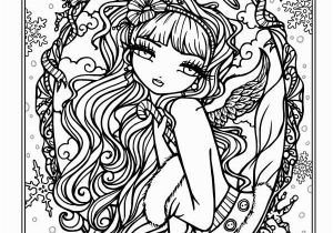 Printable Fairy Coloring Pages Christmas Fairy Coloring Pages Awesome Coloring Pages for Girls