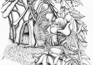 Printable Fairy Coloring Pages Fairy Coloring Pages Printable Houses Coloring Coloring Pages