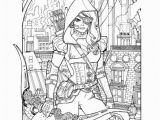 Printable Fairy Tale Coloring Pages Grimm Fairy Tales Adult Coloring Book Different Seasons
