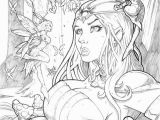 Printable Fairy Tale Coloring Pages Grimm Fairy Tales Wonderland 35 Pencil by Vinz El Tabanas