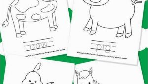 Printable Farm Animal Coloring Pages Farm Animal Coloring Pages