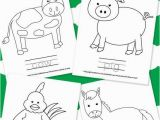 Printable Farm Animals Coloring Pages Farm Animal Coloring Pages