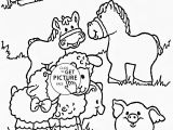 Printable Farm Animals Coloring Pages Funny Farm Animals Coloring Page for Kids Animal Coloring