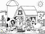 Printable Farm Coloring Pages Farm Coloring Pages