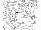 Printable Farm Coloring Pages Gardening Kids Color with Me