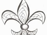 Printable Fleur De Lis Coloring Pages Fleur De Lis Drawing at Getdrawings