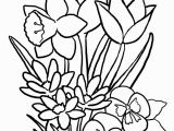 Printable Flower Coloring Pages for Kids Free Printable Flower Coloring Pages for Kids Best